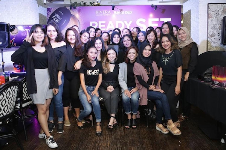 Shopping Race dan Makeup Challenge Bersama Rivera Cosmetics